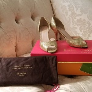 Authentic Kate Spade Sage Gold/Starlight